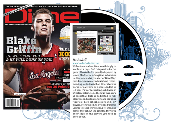 Dime magazine Blake Griffin Basketball Elite